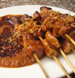indonesian chicken satay