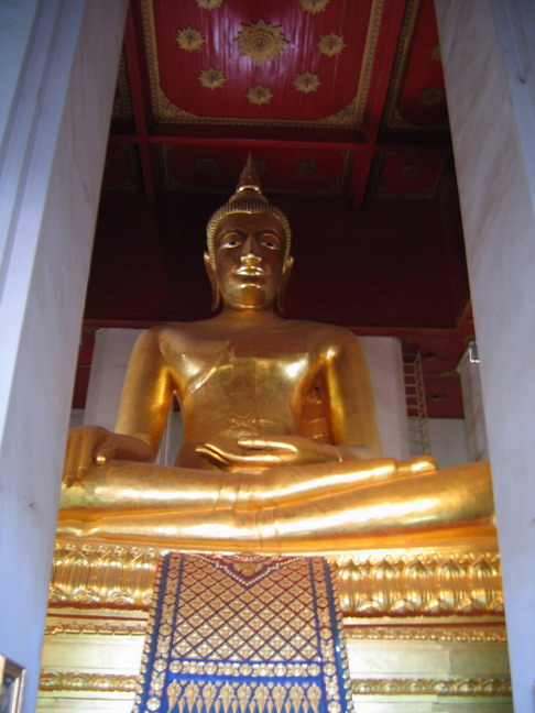 The Buddha Image of Wat Mongkol Bopit
